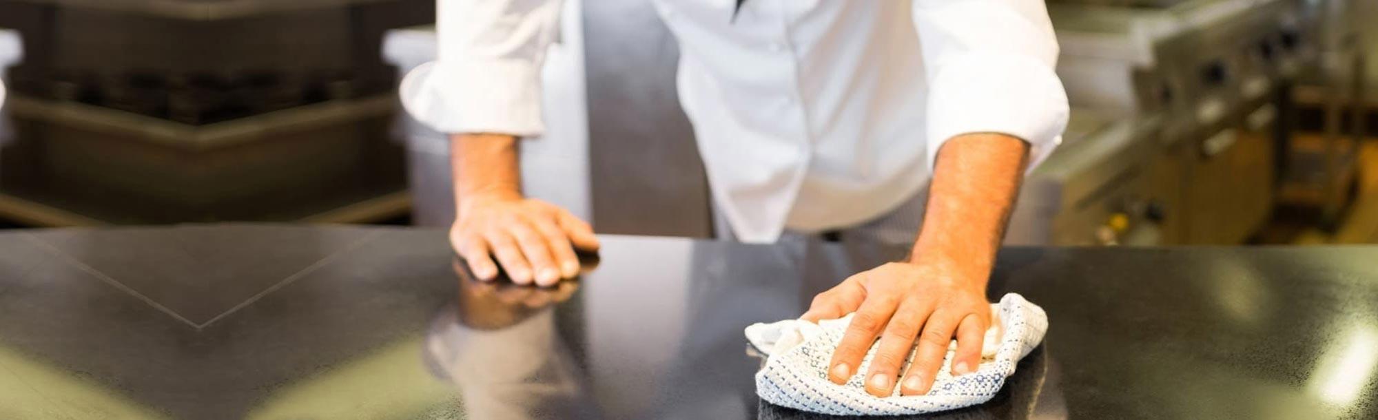 Reinigungsmittel für die Gastronomie