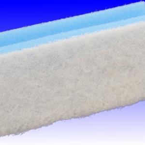 Scheuerschwamm blau weiss