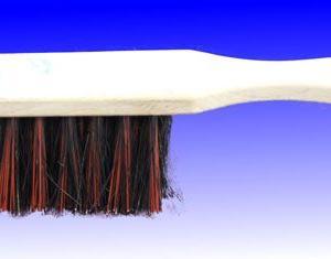 Industriehandfeger Holz lackiert Arenga/Elaston